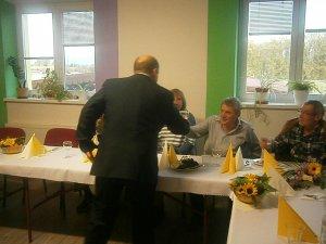 Prípitok so starostom-Polgármesteri pohárköszöntö