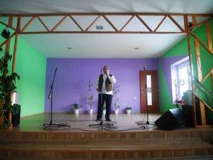 Hudobný program/Zenés műsor Kincses Tibor