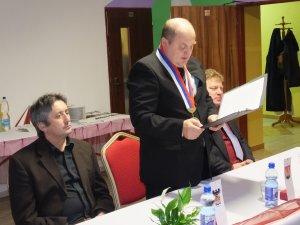 Podpísanie zmluvy o partnerstve a spolupráci-Partnerségi és együttműkodési szerződés aláírása