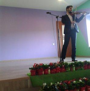 Hra na husle - D. Chovanec - Hegedűjáték