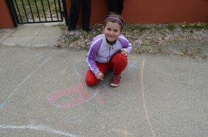 Kreslenie na asfalt - Rajz az aszfaltra