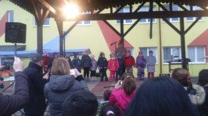 Vystúpenie detí MŠ - Az óvodások fellépése