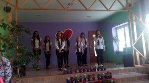Vystúpenie školského zboru HI-FI - A HI-FI iskolai kórus fellépése